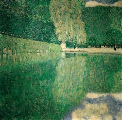 גוסטב קלימט - Park SchonbrunnPark Schonbrunn  עצים