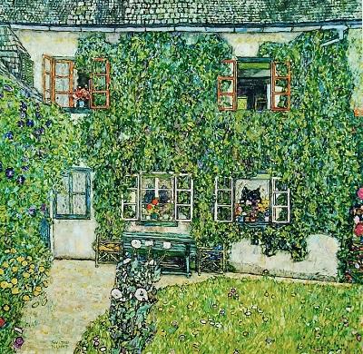 גוסטב קלימט - House in Weissenbach of Attersee LakeHouse in Weissenbach of Attersee Lake