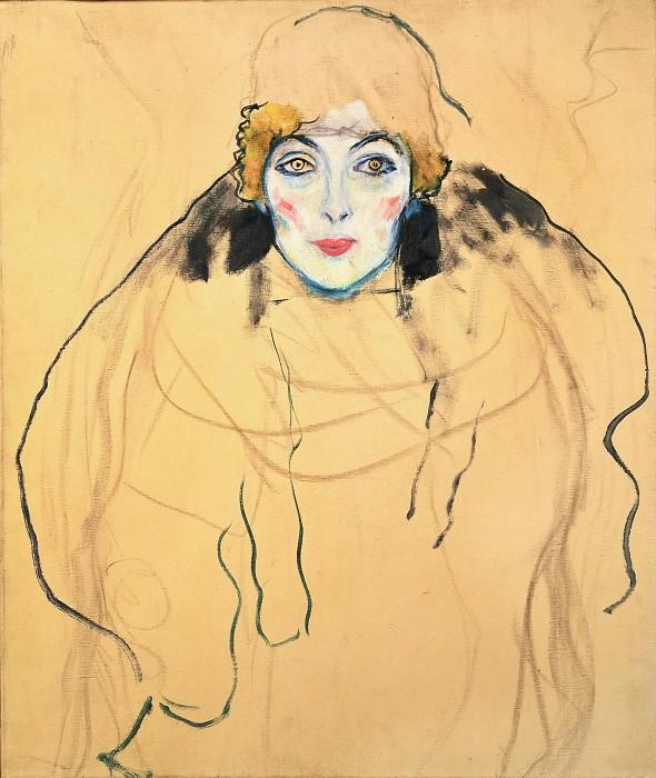 גוסטב קלימט - Portrait of a WomanPortrait of a Woman