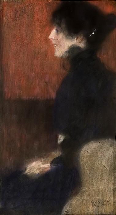 גוסטב קלימט - Portrait of a Lady- 4Portrait of a Lady- 4