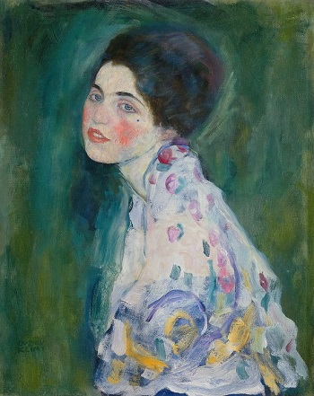 גוסטב קלימט - Portrait of a Young WomanPortrait of a Young Woman