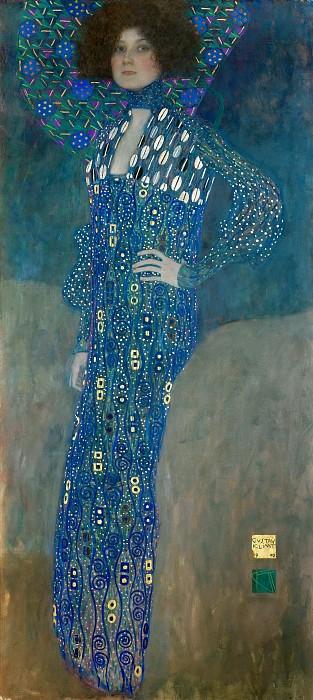 גוסטב קלימט - Portrait of Emilie Floge  Portrait of Emilie Floge