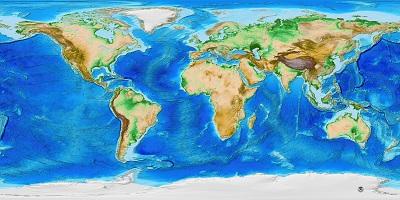מפת עולם  - מוכנה לתליה על קנבס מתוחמפת עולם  - מוכנה לתליה על קנבס מתוח