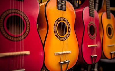 גיטרותמוזיקה - טרנס   מוסיקה electric-guitars גיטרות  _Fire-Water-Guitar