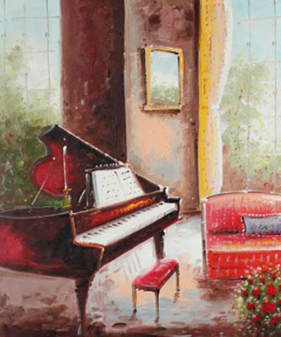 מוזיקה - פסנתר כנף מוזיקה - אבסטרקט    מוסיקה