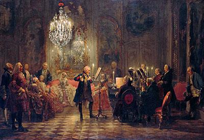 Adolph Menzelמוסיקה מוזיקה