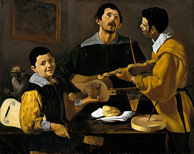 Diego Vel?zquez - The Three Musicianמוסיקה מוזיקה