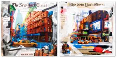 ניו יורק טיימס - תמונה בחלקיםסט תמונות ניו יורק טיימס