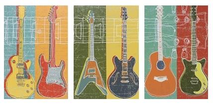 גיטרות - תמונה בחלקיםגיטרות