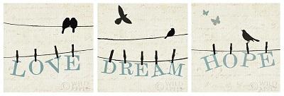 אהבה תקווה חלום - תמונה בחלקיםאהבה תקווה חלום