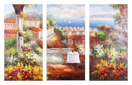 נוף וים - תמונה בחלקיםתמונה בחלקים   נוף  ים