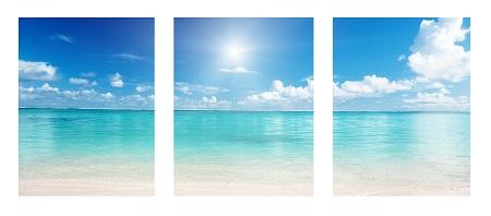 חוף ים  - תמונה בחלקיםחוף ים  - תמונה בחלקים