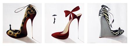 נעלי נשים  - תמונה בחלקיםנעלי נשים  - תמונה בחלקים