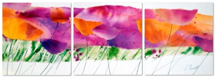 פרחים - תמונה בחלקיםפרחים