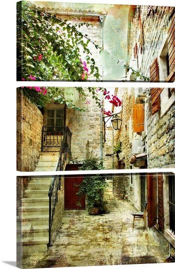 אפשרות לחלוקת תמונות - קרואטיה - תמונה בחלקים