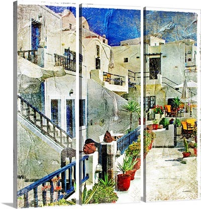 אפשרות לחלוקת תמונות - pictorial-courtyards-of-santorinipictorial-courtyards-of-santorini