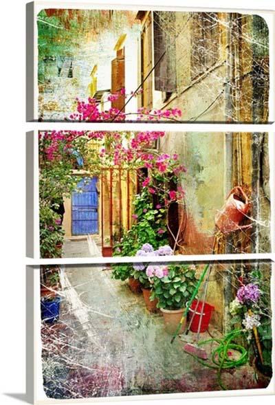 אפשרות לחלוקת תמונות - יוון   courtyards-of-greececourtyards-of-greece
