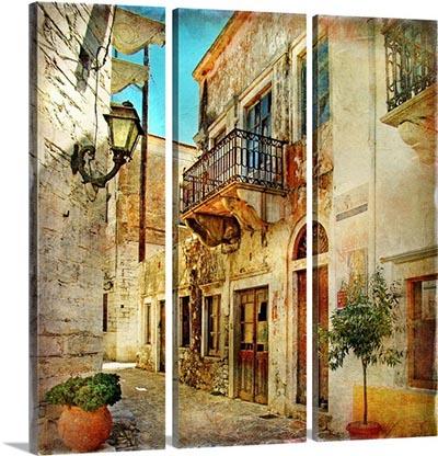 אפשרות לחלוקת תמונות - יוון   old-streets-of-greeceold-streets-of-greece
