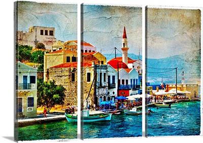 יוון   beautiful-kastelorizo-bay-dodecanes-greecebeautiful-kastelorizo-bay-dodecanes-greece
