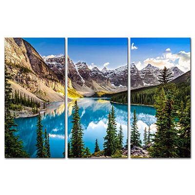 אפשרות לחלוקת תמונותנוף הרים אגם