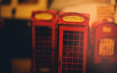 תא  טלפוןצרפת לונדון
