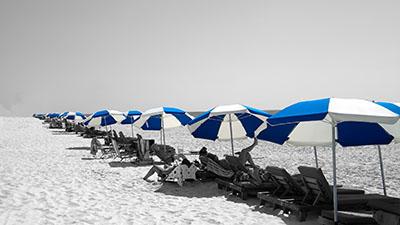 שמשיות חוף ים