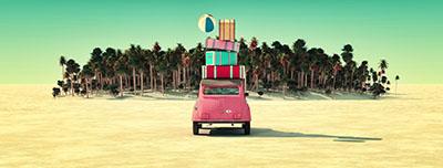 יוצאים לחופשמכונית