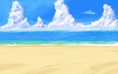 חולות זהובים חולות זהובים   big_anime_style_beach