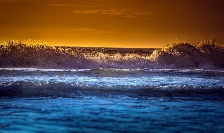 ים ים שקיעה -