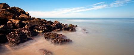 clear sea horizon
