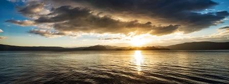 זריחה   זריחה                                     _lake_sunrise