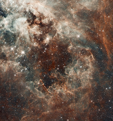 The Tarantula Nebula in the Large Magellanic CloudThe Tarantula Nebula in the Large Magellanic Cloud