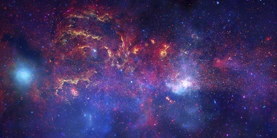 NASA's Great Observatories Examine the Galactic Center RegionNASA's Great Observatories Examine the Galactic Center Region