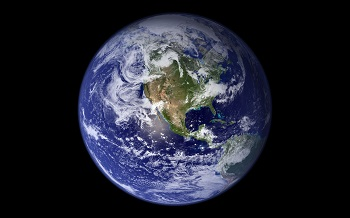 כדור הארץ  The Blue Marble Earth