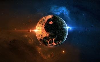 yin  yang  planetYin  yang  planet