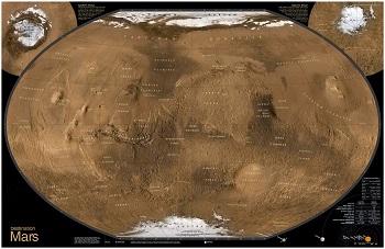 מפת המאדיםמפת המאדים