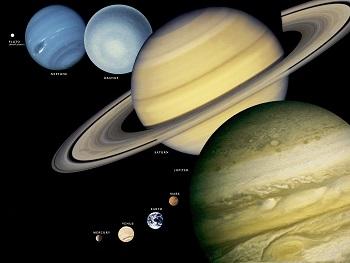 Earths  celestial  familyEarths  celestial  family