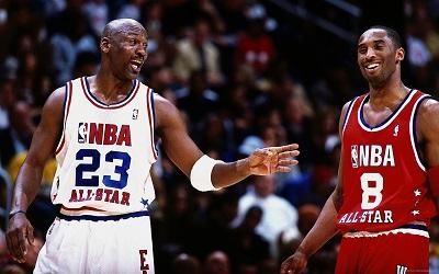 Michael Jordan - Kobe Bryant  NBA-basketball   Michael Jordan - Kobe Bryant