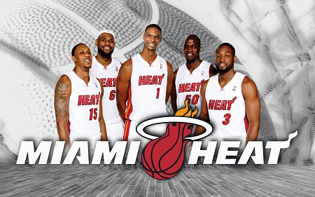 nba  Miami-Heat-Team