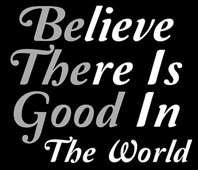 Be-The-Good  - תמונה על קנבס,מוכנה לתליה.  _Inspiration-Be-The-Good