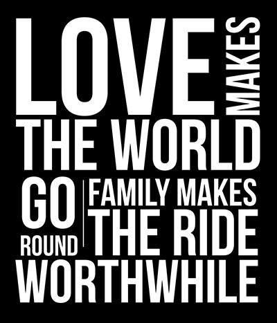Love-World-Round- תמונה על קנבס,מוכנה לתליה._Inspiration-Love-World-Round