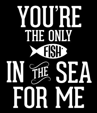Fish-In-The-Sea- תמונה על קנבס,מוכנה לתליה._Love-Fish-In-The-Sea