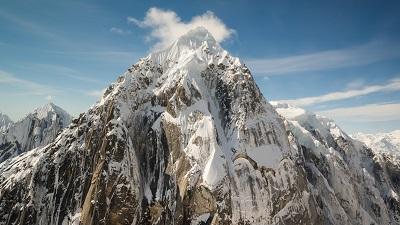 Mountain Peaks in  Alaska Mountain Peaks in  Alaska