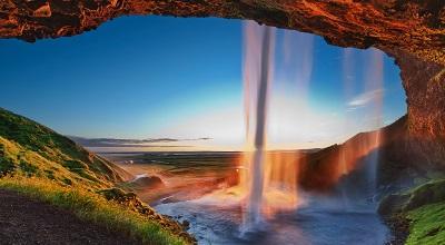 מפל וקשת  arch  waterfallמפל וקשת  arch  waterfall