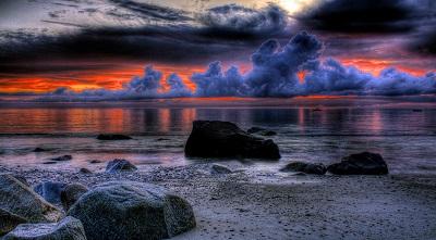 שקיעה דרמתית dramatic breathtaking sunsetשקיעה דרמתית dramatic breathtaking sunset