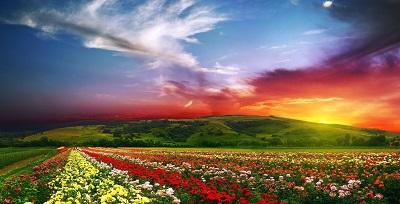 שקיעה   Sunset  הרים