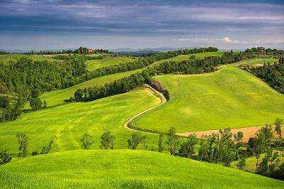 טוסקנהתמונות של שדות צילומים טוסקנה   toskana italiya polya