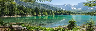 אגם  פיוזן איטליה   אגם  פיוזן איטליה   fusine_lakes-italy_mountains_snow_nature