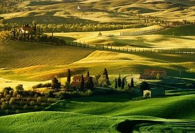 נוף כפריתמונות של שדות צילומים   le-crete-new-view-from-villa