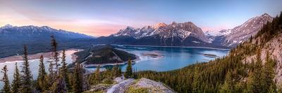 נוף קנדה נוף קנדה  kananaskis-lakes_canada_lake_mountains_trees